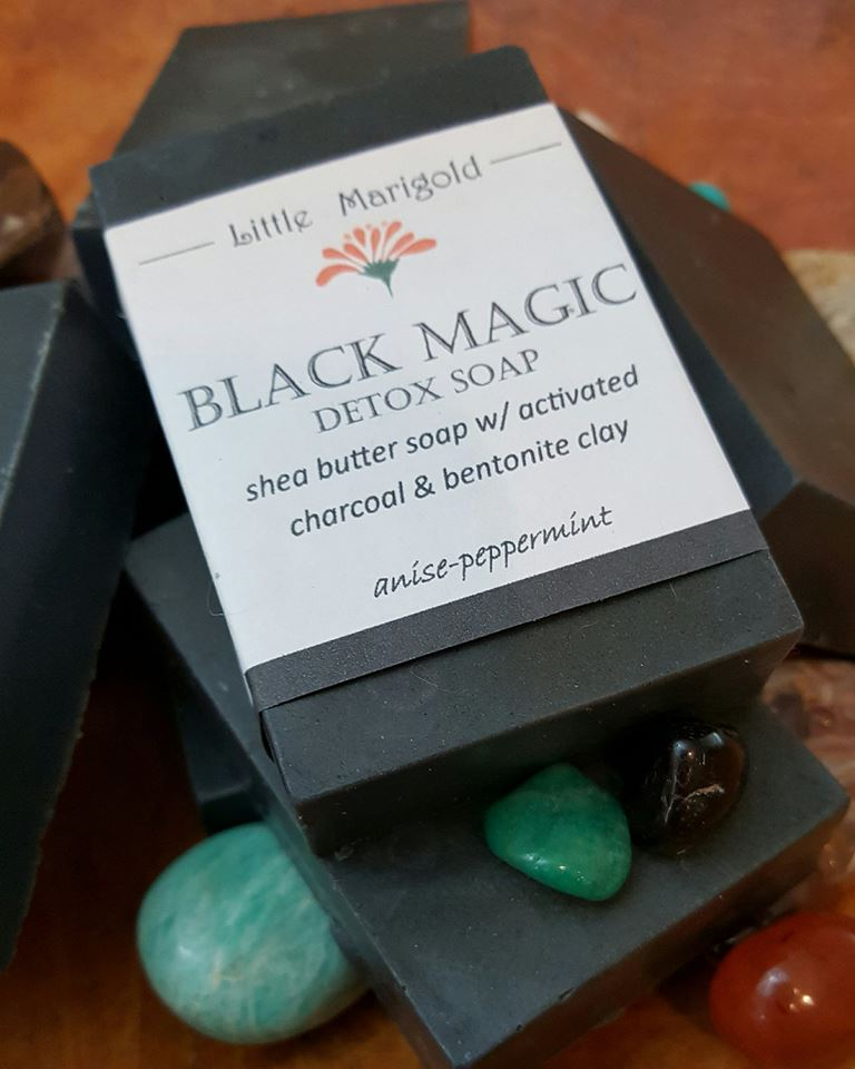 Black Magic I M In Love With The Charcoal: Black Magic Detox Charcoal Soap